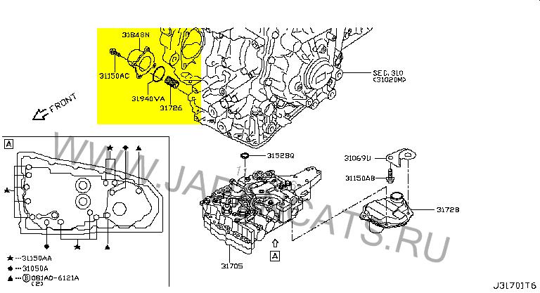 Nissan X-Trail T32 OIL FILTER ASSY-CVT.png